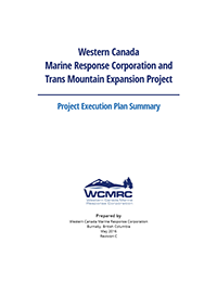 Western Canada Marine Response Corporation Project Execution Plan